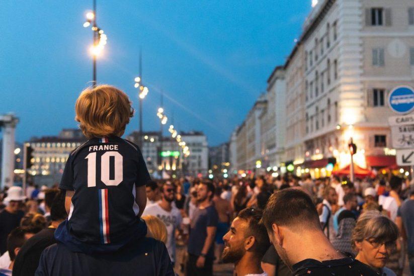 frankrijk voetbal supporters