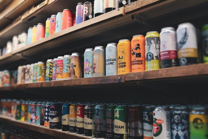 bier in stelling